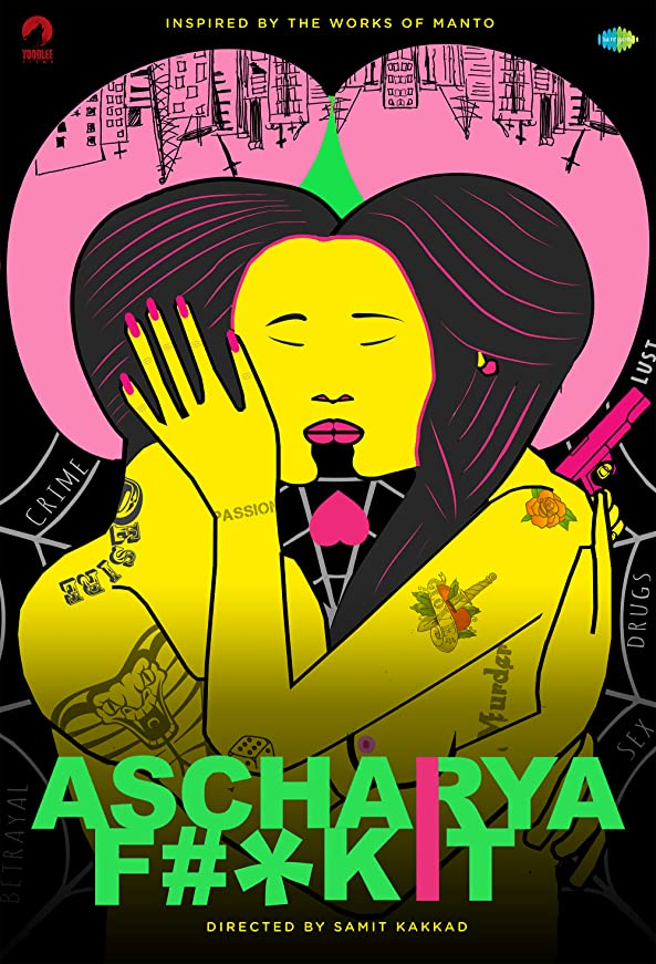 Ascharya F**k It (2018) UNRATED Hindi 720p HEVC HDRip x265 AAC ESubs  [500MB] Full Movie Download