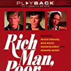 Nick Nolte, Peter Strauss, and Susan Blakely in Rich Man, Poor Man (1976)