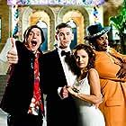 Raquel Alessi, Craig Robinson, Zach Cregger, and Trevor Moore in Miss March (2009)