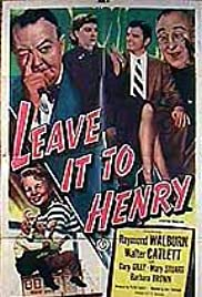 Leave It to Henry Poster