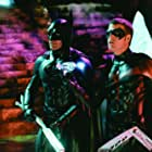 George Clooney and Chris O'Donnell in Batman & Robin (1997)