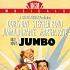 Doris Day, Stephen Boyd, and Jimmy Durante in Billy Rose's Jumbo (1962)