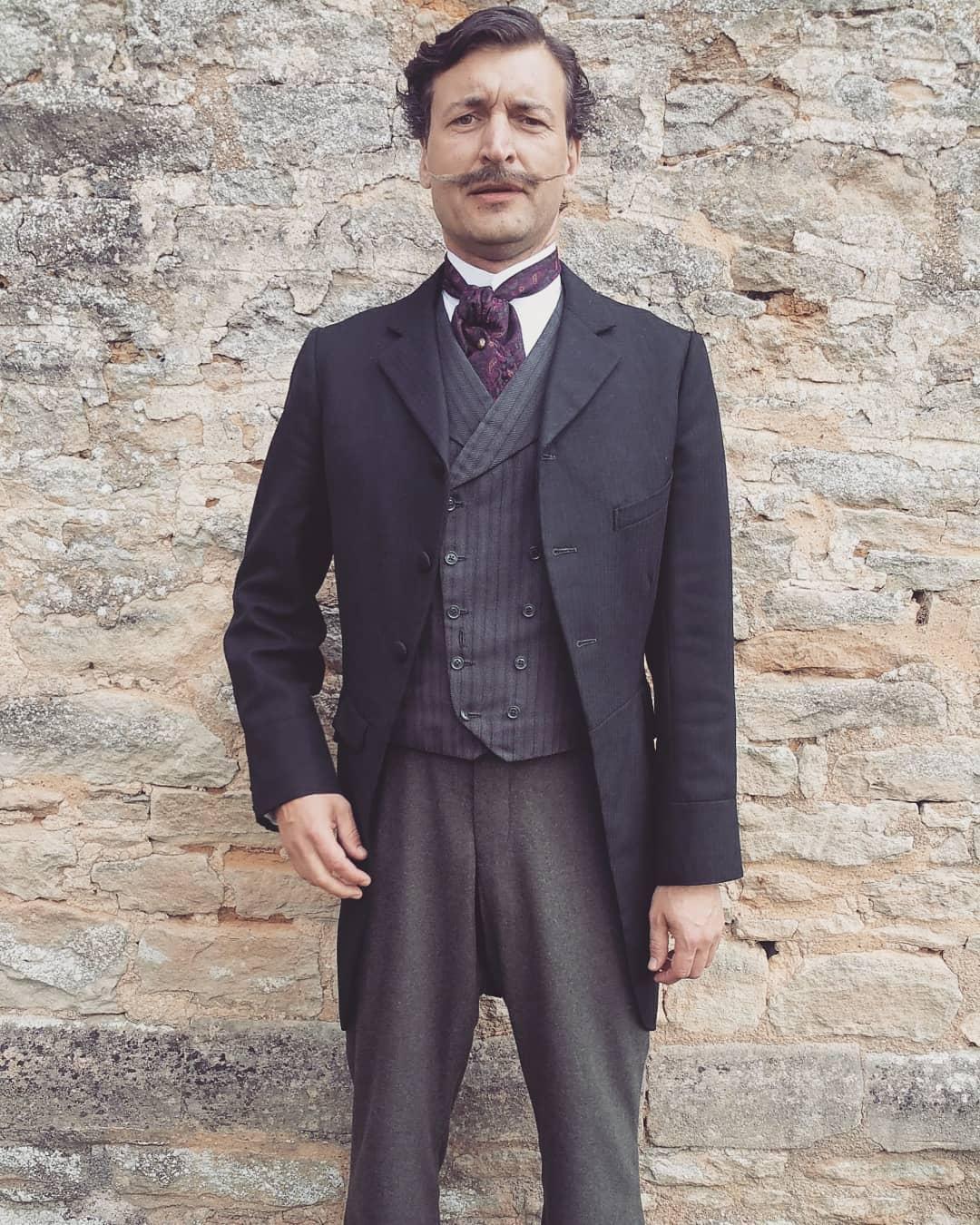 Karl Farrer as the hero Polka dancer on Colette
