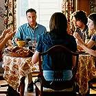 Andy Garcia, Julianna Margulies, Dominik Garcia, Steven Strait, and Ezra Miller in City Island (2009)