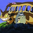 Noriko Hidaka and Hitoshi Takagi in Tonari no Totoro (1988)
