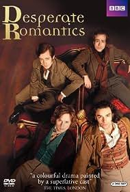 Sam Crane, Samuel Barnett, Rafe Spall, and Aidan Turner in Desperate Romantics (2009)