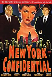 New York Confidential (1955) Poster - Movie Forum, Cast, Reviews