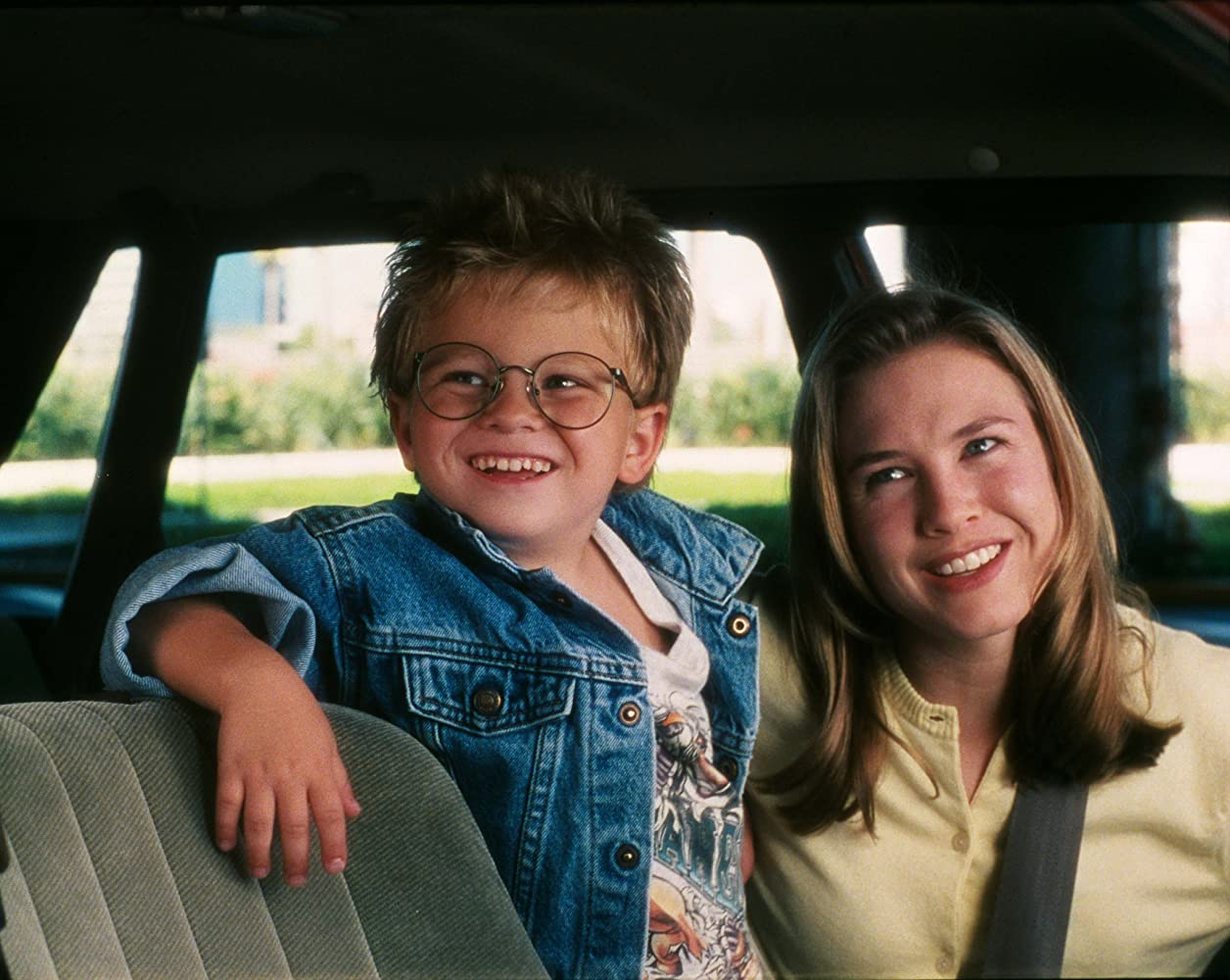 Renée Zellweger and Jonathan Lipnicki in Jerry Maguire (1996)
