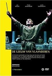 De leeuw van Vlaanderen Poster