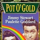 James Stewart and Paulette Goddard in Pot o' Gold (1941)