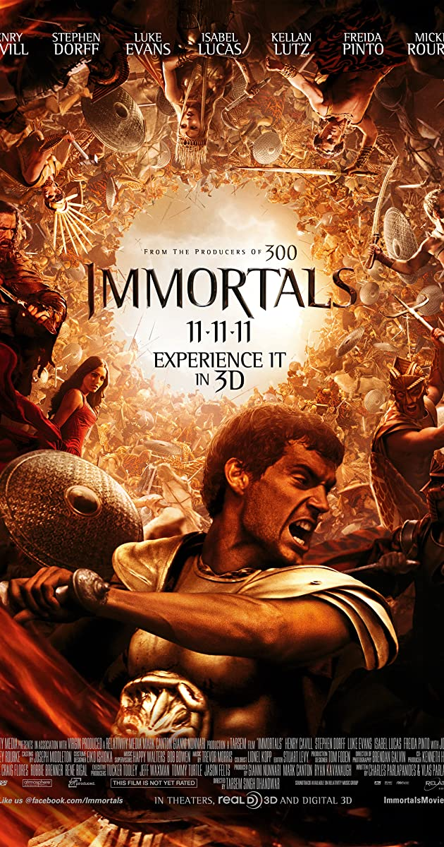 Immortals (2011) - IMDb