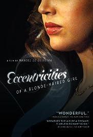 Singularidades de uma Rapariga Loura Poster
