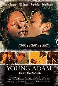 Ewan McGregor, Emily Mortimer, and Tilda Swinton in Young Adam (2003)