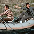 Kevin Bacon and John C. Reilly in The River Wild (1994)
