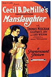 Manslaughter Poster