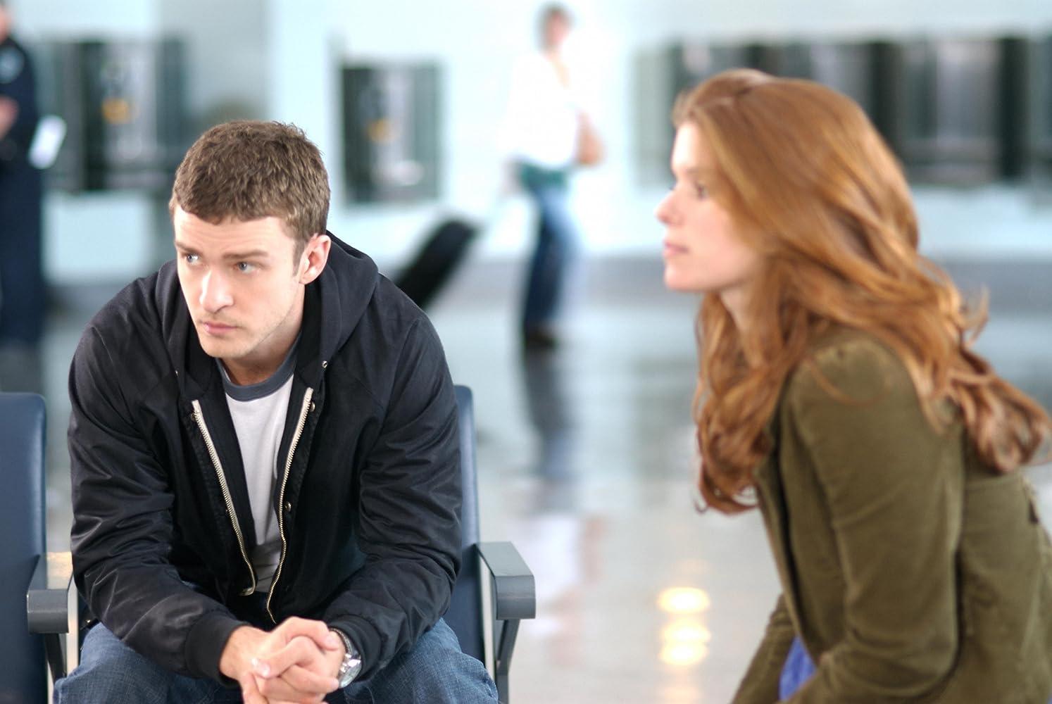 Justin Timberlake dan Kate Mara dalam The Open Road (2009)