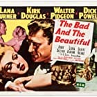 Kirk Douglas and Lana Turner in The Bad and the Beautiful (1952)
