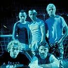 Ewan McGregor, Robert Carlyle, Jonny Lee Miller, Ewen Bremner, and Kevin McKidd in Trainspotting (1996)