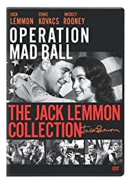 Operation Mad Ball (1957) Poster - Movie Forum, Cast, Reviews