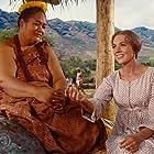 Julie Andrews and Jocelyne LaGarde in Hawaii (1966)