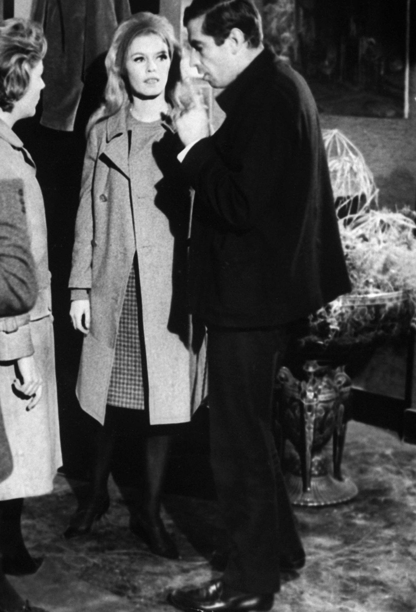 Brigitte Bardot and Roger Vadim in Le repos du guerrier (1962)