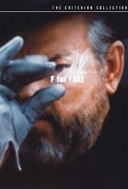 F for Fake(1973) Poster - Movie Forum, Cast, Reviews