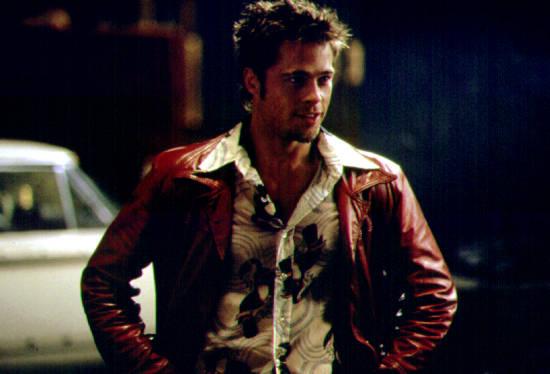 Brad Pitt stars as Tyler Durden