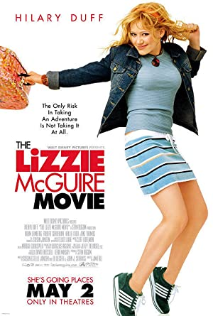 The Lizzie McGuire Movie Poster Image