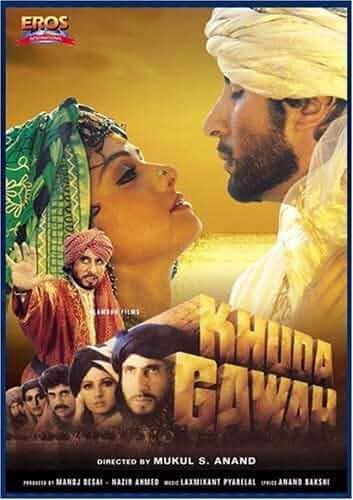 Khuda Gawah (1992) 480p HDRip Hindi x264 ESubs 600MB