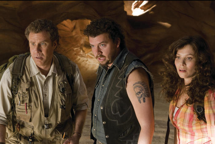 Will Ferrell, Anna Friel, and Danny McBride in Land of the Lost (2009)