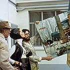 Jacques Tati and Maria Kimberly in Trafic (1971)