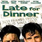 Peter Berg and Brian Wimmer in Late for Dinner (1991)