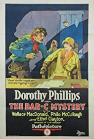 Philo McCullough and Dorothy Phillips in The Bar-C Mystery (1926)
