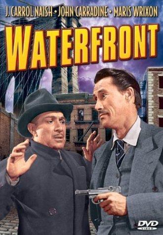 John Carradine and J. Carrol Naish in Waterfront (1944)