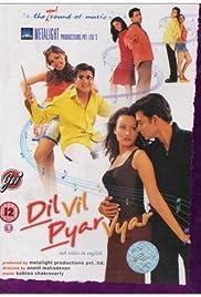 Dil Vil Pyar Vyar(2002) Poster - Movie Forum, Cast, Reviews