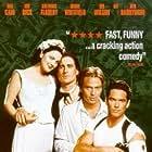 Drew Barrymore, Dean Cain, Sean Patrick Flanery, and Luke Wilson in Best Men (1997)