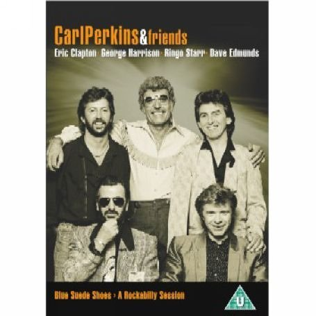 Eric Clapton, Dave Edmunds, George Harrison, Carl Perkins, and Ringo Starr in Blue Suede Shoes: A Rockabilly Session with Carl Perkins and Friends (1985)