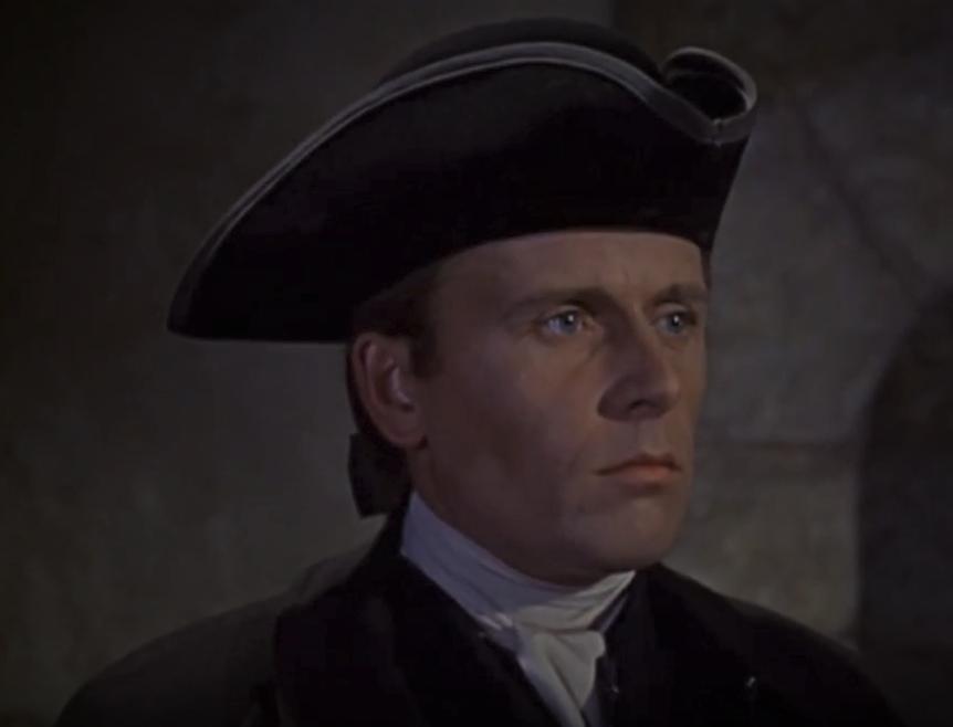 Alan Dobie in Dr. Syn, Alias the Scarecrow (1963)