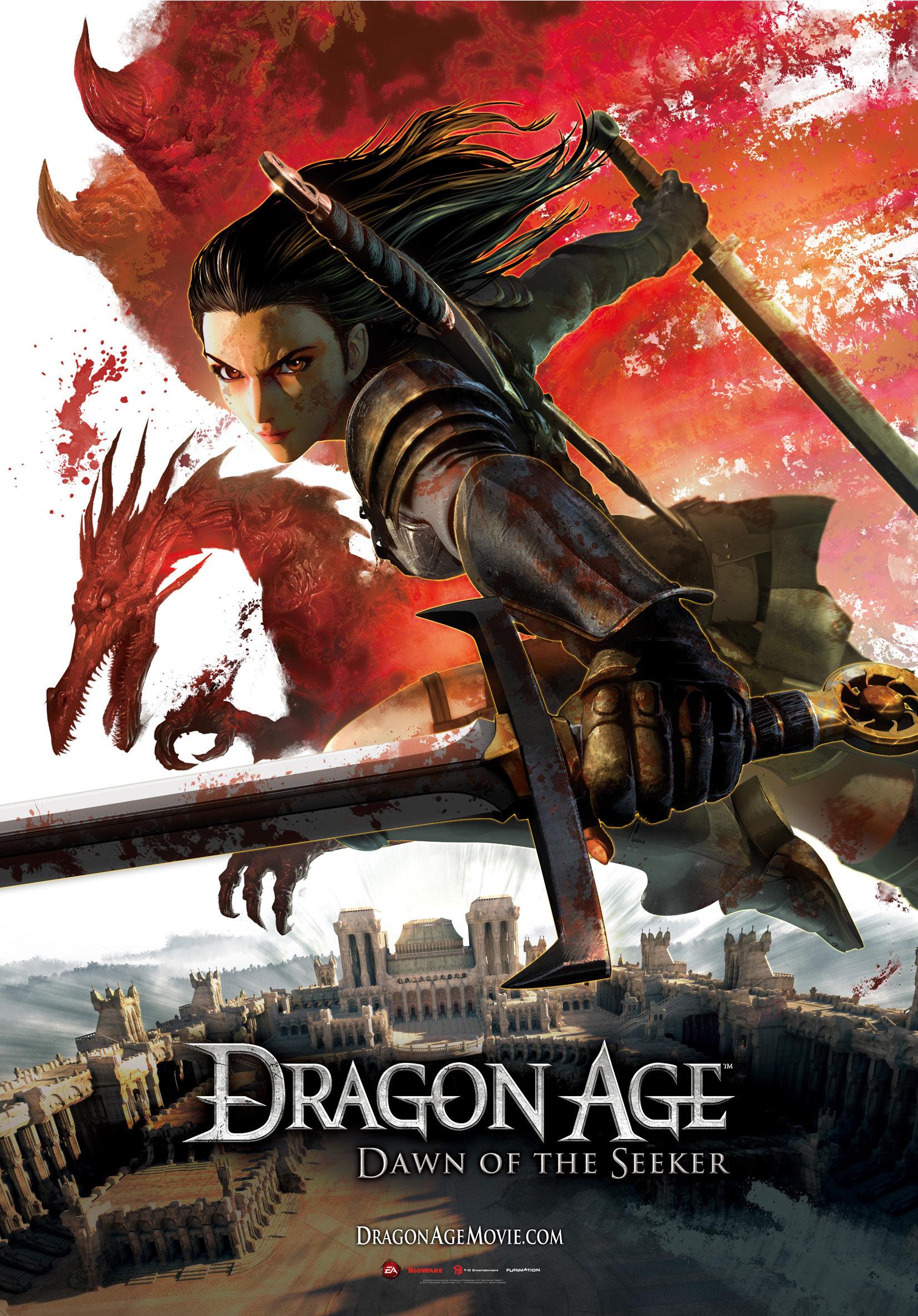 دانلود زیرنویس فارسی فیلم Dragon Age: Dawn of the Seeker