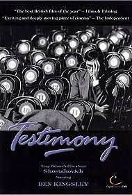 Ben Kingsley in Testimony (1987)