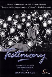 Testimony Poster