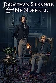 Eddie Marsan and Bertie Carvel in Jonathan Strange & Mr Norrell (2015)