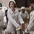 Sylvia Hoeks at work in the meat industry