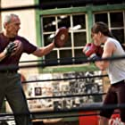 Clint Eastwood and Hilary Swank in Million Dollar Baby (2004)
