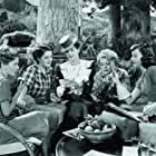 Joan Fontaine, Paulette Goddard, Mary Boland, Rosalind Russell, and Norma Shearer in The Women (1939)