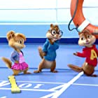 Christina Applegate, Justin Long, and Matthew Gray Gubler in Alvin and the Chipmunks: Chipwrecked (2011)