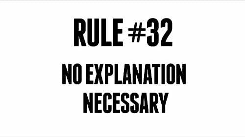 No Explanation Necessary