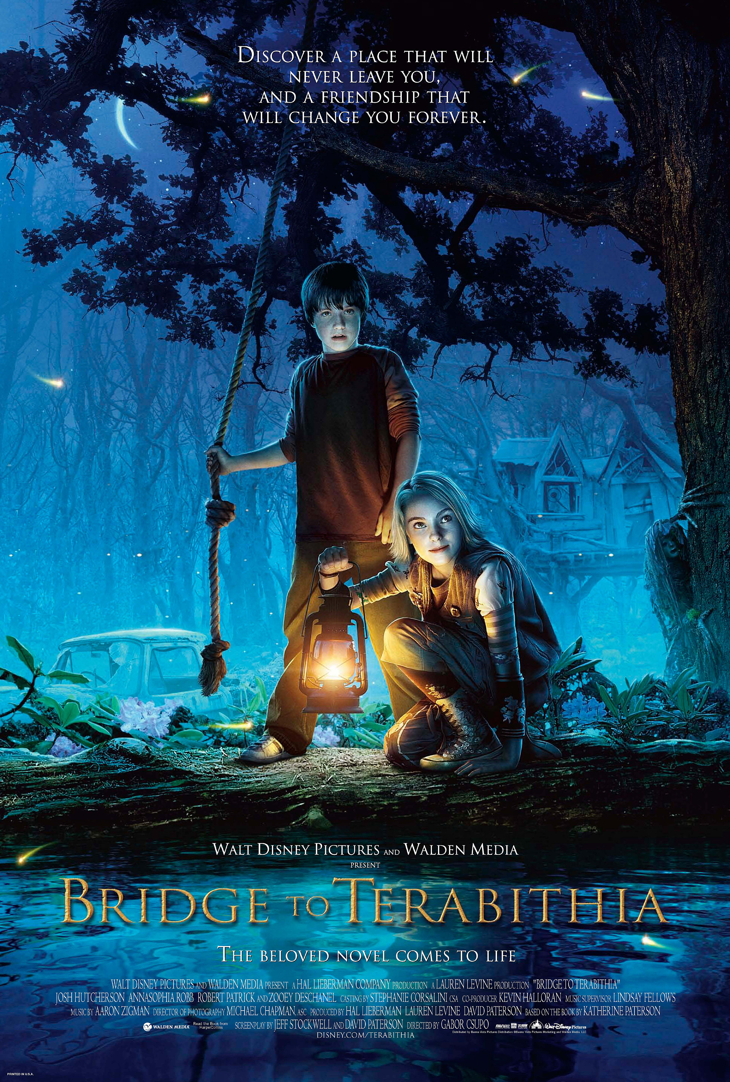 Bridge to Terabithia (2007) BluRay 480p, 720p & 1080p