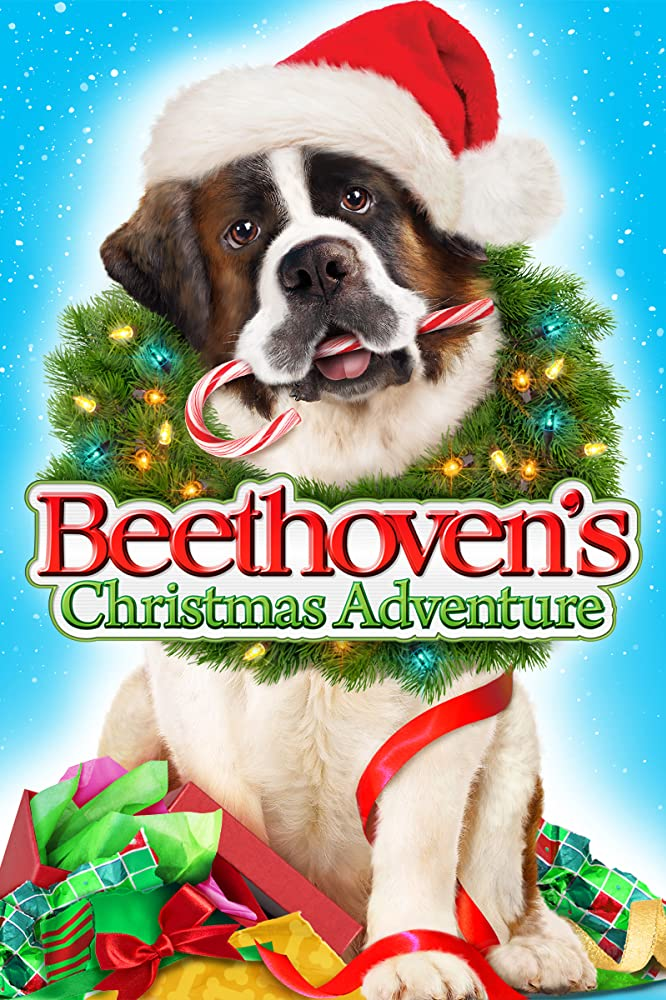 Beethoven's Christmas Adventure DVD Cover