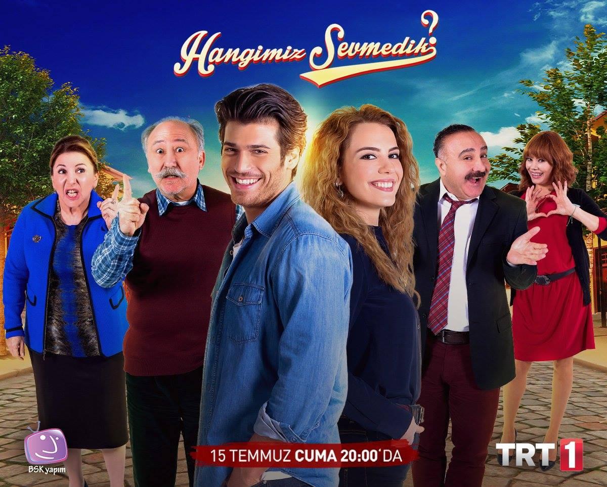 Altan Erkekli, Gül Onat, Mehtap Bayri, Cengiz Bozkurt, Selen Soyder, and Can Yaman in Hangimiz sevmedik? (2016)